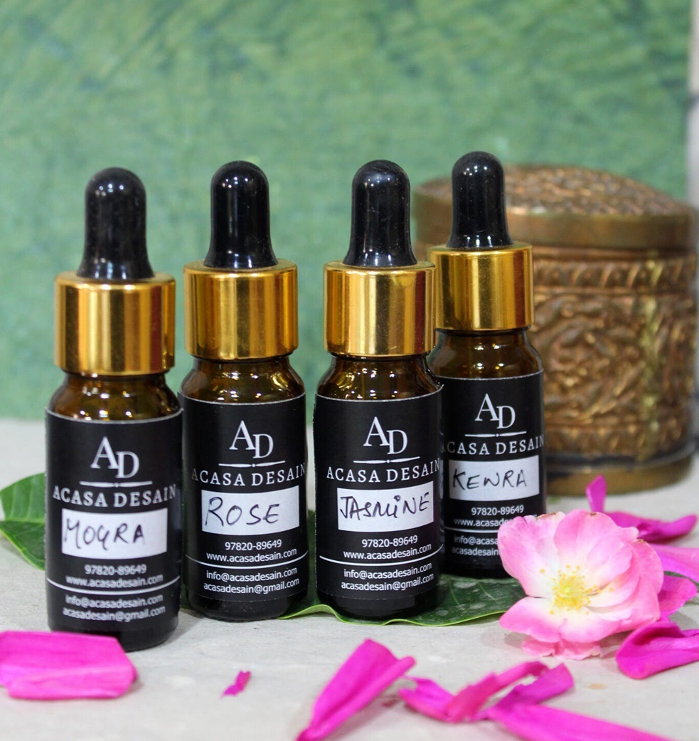 Natural Attar (Traditional Essential Oil Fragrances)