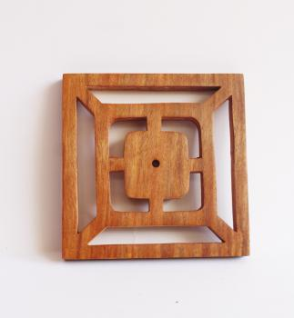 5*5 wooden Backplate of knob