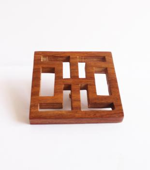 wooden Backplate of knob