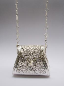 Silver Plated Clutch