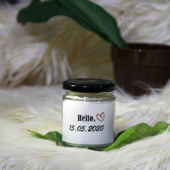Hello 2020 Personalized Aroma Jar Candle