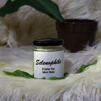 Selenophile- MESSAGE PERSONALIZED SOY AROMA CANDLE