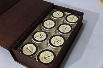 Mini Rosemerry Soy Aroma Tin Candle set of 8