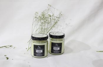 Set of 2 Mini Jar Candles (2.5 inch)